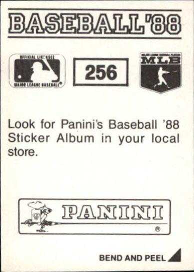 thumbnail 11 - 1988 Panini Stickers Baseball Cards 250-480 (A4394) - You Pick - 10+ FREE SHIP