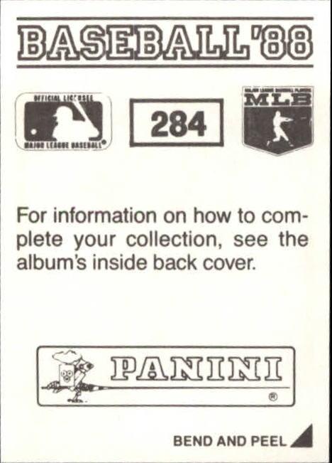 thumbnail 61 - 1988 Panini Stickers Baseball Cards 250-480 (A4394) - You Pick - 10+ FREE SHIP