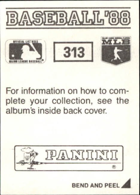 thumbnail 101 - 1988 Panini Stickers Baseball Cards 250-480 (A4394) - You Pick - 10+ FREE SHIP