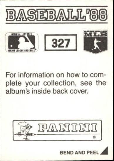 thumbnail 123 - 1988 Panini Stickers Baseball Cards 250-480 (A4394) - You Pick - 10+ FREE SHIP