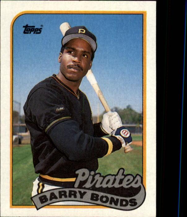 1989 Topps Barry Bonds #620 Baseball Card