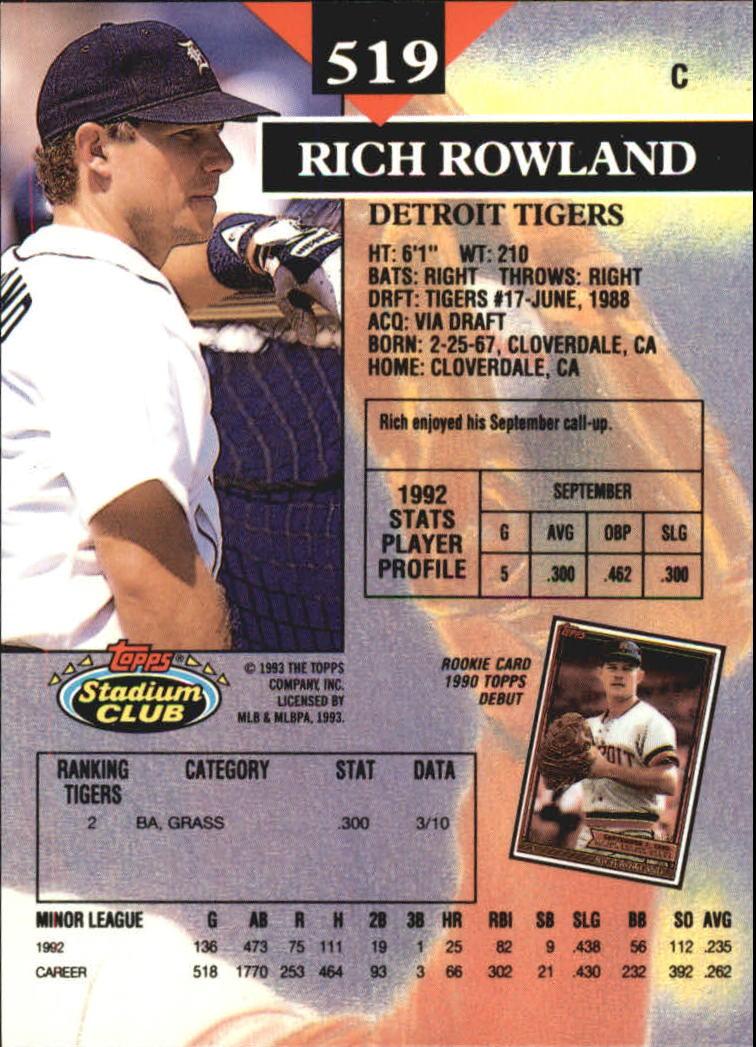 heiße Produkte super beliebt meistverkauft Details about 1993 Stadium Club Members Only BB #s 251-750 A4423 - You Pick  - 10+ FREE SHIP