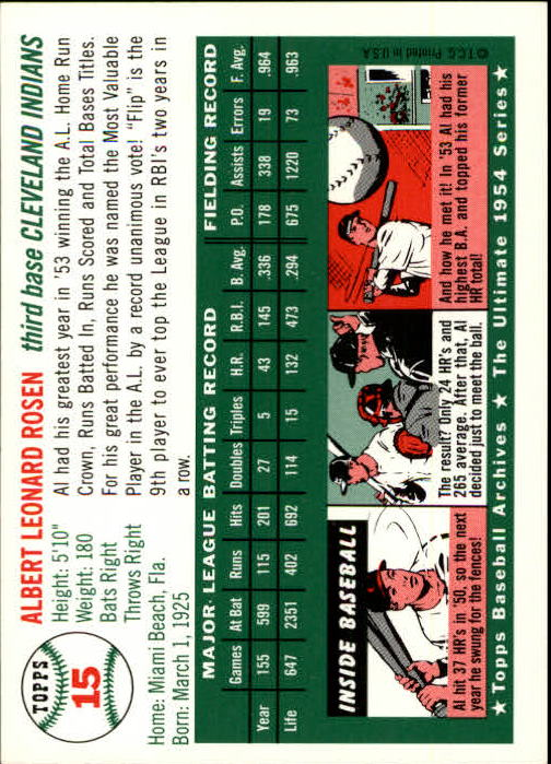 1994-Topps-Archives-1954-BB-Card-s-1-258-A1243-You-Pick-10-FREE-SHIP thumbnail 18