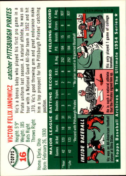 1994-Topps-Archives-1954-BB-Card-s-1-258-A1243-You-Pick-10-FREE-SHIP thumbnail 20