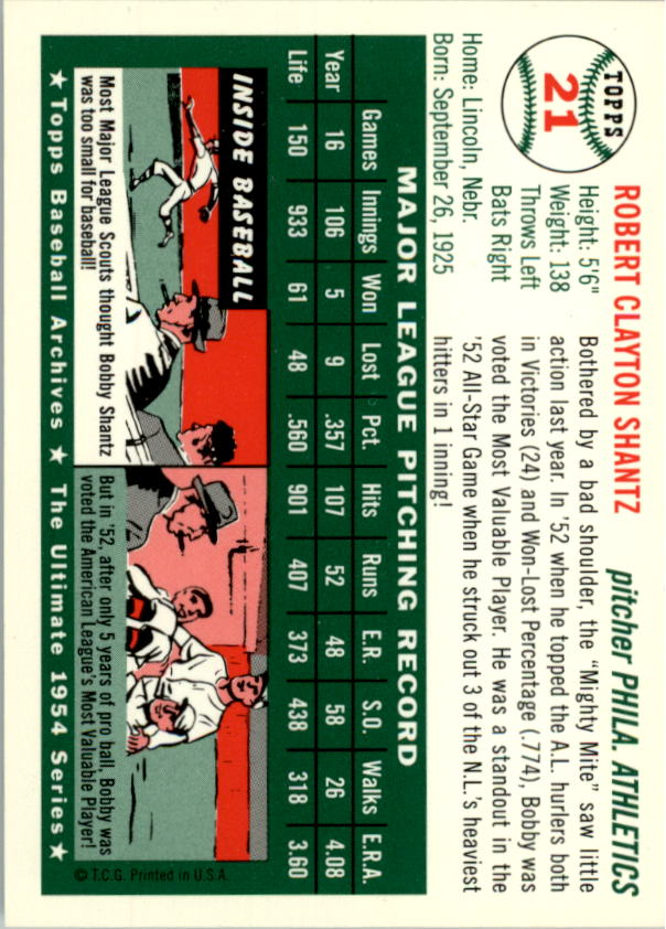 1994-Topps-Archives-1954-BB-Card-s-1-258-A1243-You-Pick-10-FREE-SHIP thumbnail 26