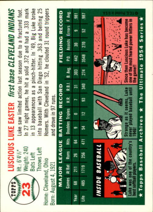 1994-Topps-Archives-1954-BB-Card-s-1-258-A1243-You-Pick-10-FREE-SHIP thumbnail 28