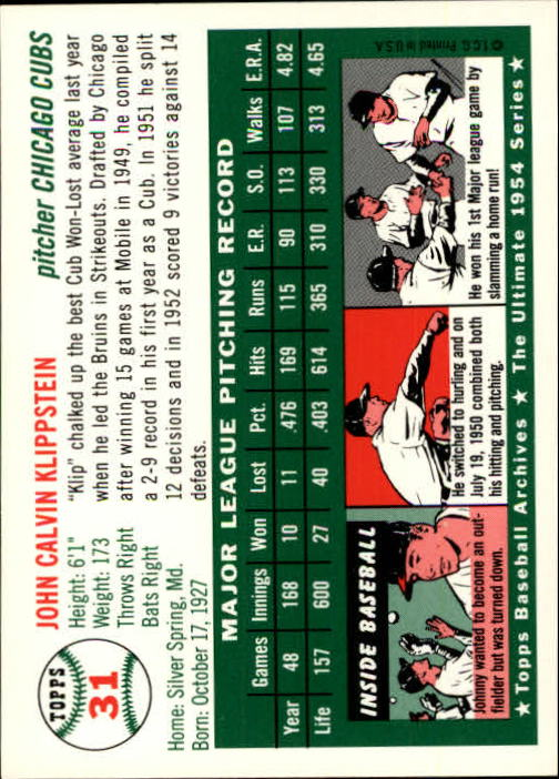 1994-Topps-Archives-1954-BB-Card-s-1-258-A1243-You-Pick-10-FREE-SHIP thumbnail 40