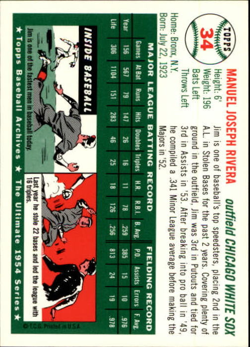 1994-Topps-Archives-1954-BB-Card-s-1-258-A1243-You-Pick-10-FREE-SHIP thumbnail 45