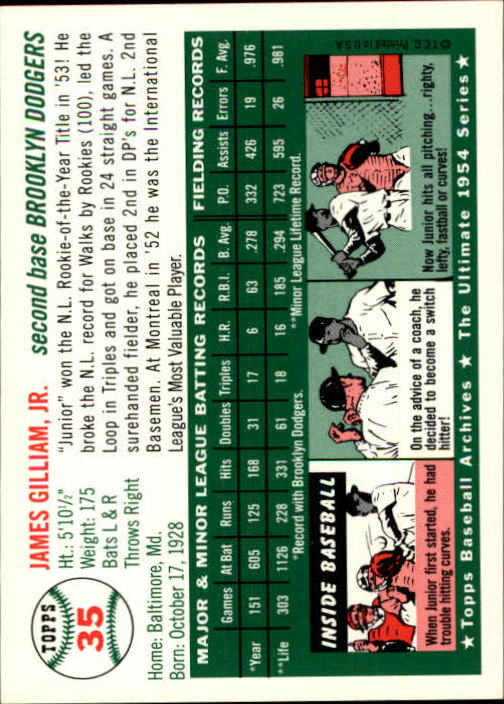 1994-Topps-Archives-1954-BB-Card-s-1-258-A1243-You-Pick-10-FREE-SHIP thumbnail 47