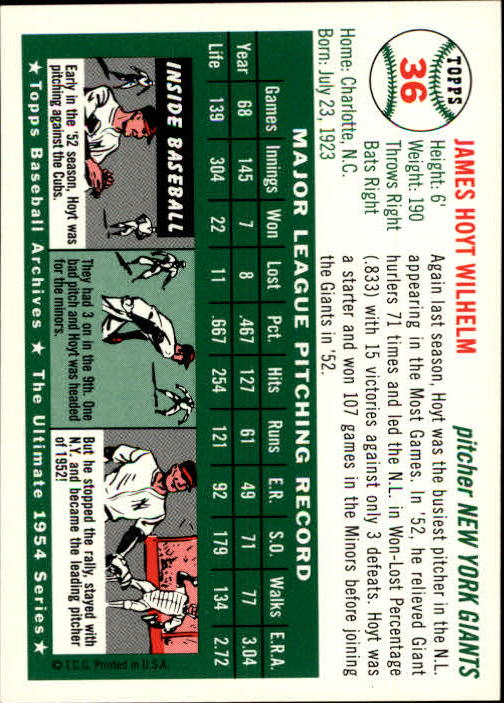 1994-Topps-Archives-1954-BB-Card-s-1-258-A1243-You-Pick-10-FREE-SHIP thumbnail 49