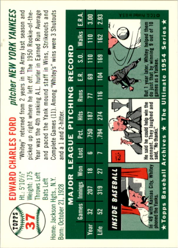 1994-Topps-Archives-1954-BB-Card-s-1-258-A1243-You-Pick-10-FREE-SHIP thumbnail 51