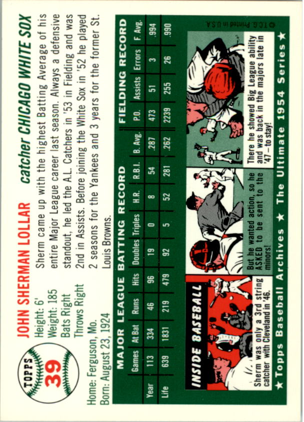 1994-Topps-Archives-1954-BB-Card-s-1-258-A1243-You-Pick-10-FREE-SHIP thumbnail 55