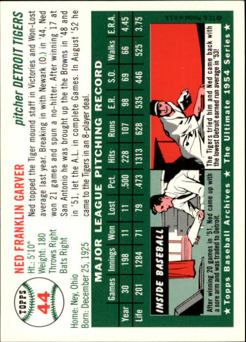 1994-Topps-Archives-1954-BB-Card-s-1-258-A1243-You-Pick-10-FREE-SHIP thumbnail 63