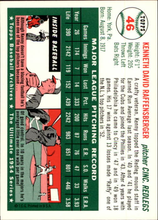 1994-Topps-Archives-1954-BB-Card-s-1-258-A1243-You-Pick-10-FREE-SHIP thumbnail 65