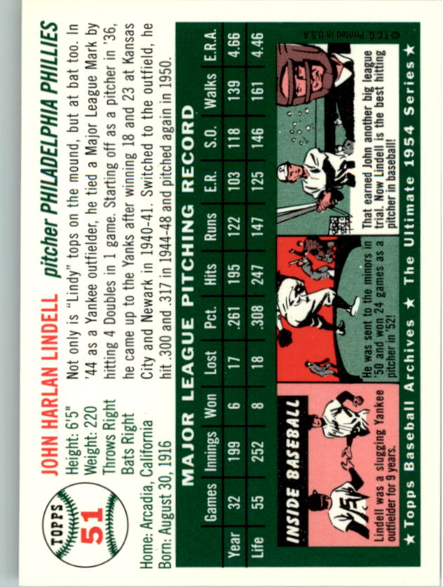 1994-Topps-Archives-1954-BB-Card-s-1-258-A1243-You-Pick-10-FREE-SHIP thumbnail 73