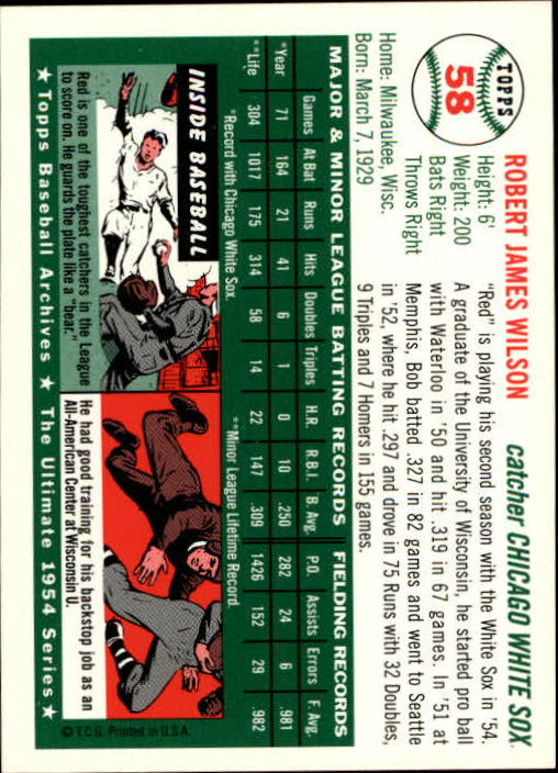 1994-Topps-Archives-1954-BB-Card-s-1-258-A1243-You-Pick-10-FREE-SHIP thumbnail 86