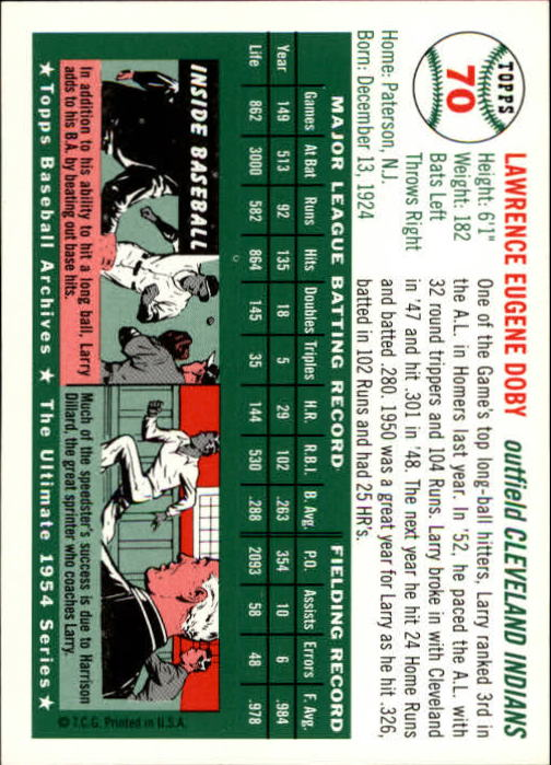1994-Topps-Archives-1954-BB-Card-s-1-258-A1243-You-Pick-10-FREE-SHIP thumbnail 106