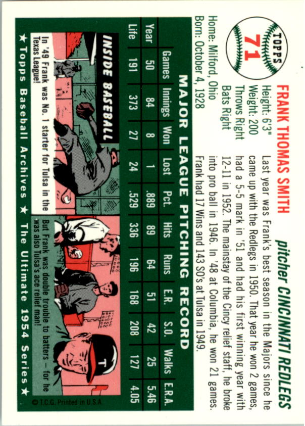 1994-Topps-Archives-1954-BB-Card-s-1-258-A1243-You-Pick-10-FREE-SHIP thumbnail 108