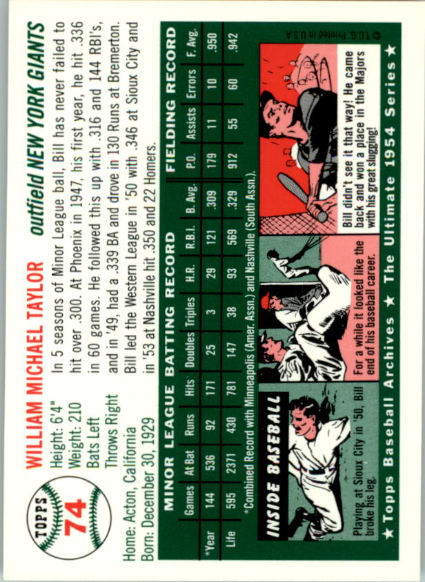 1994-Topps-Archives-1954-BB-Card-s-1-258-A1243-You-Pick-10-FREE-SHIP thumbnail 112