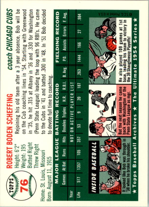 1994-Topps-Archives-1954-BB-Card-s-1-258-A1243-You-Pick-10-FREE-SHIP thumbnail 116
