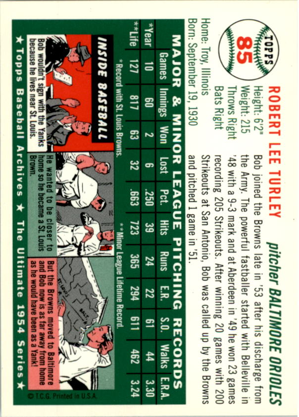 1994-Topps-Archives-1954-BB-Card-s-1-258-A1243-You-Pick-10-FREE-SHIP thumbnail 128