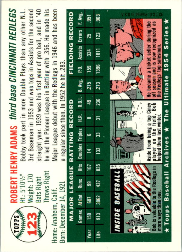 1994-Topps-Archives-1954-BB-Card-s-1-258-A1243-You-Pick-10-FREE-SHIP thumbnail 192