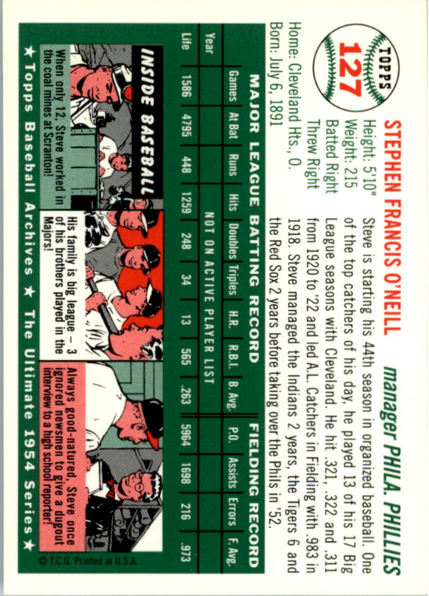 1994-Topps-Archives-1954-BB-Card-s-1-258-A1243-You-Pick-10-FREE-SHIP thumbnail 199