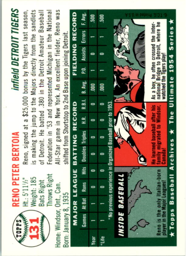 1994-Topps-Archives-1954-BB-Card-s-1-258-A1243-You-Pick-10-FREE-SHIP thumbnail 205