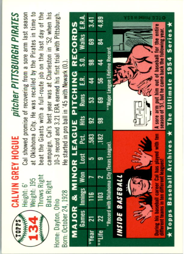 1994-Topps-Archives-1954-BB-Card-s-1-258-A1243-You-Pick-10-FREE-SHIP thumbnail 209