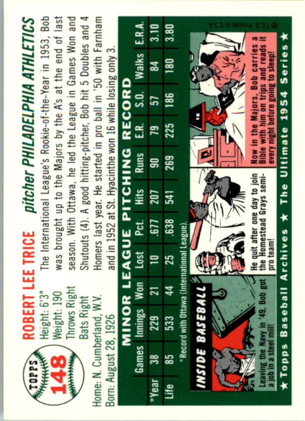 1994-Topps-Archives-1954-BB-Card-s-1-258-A1243-You-Pick-10-FREE-SHIP thumbnail 229