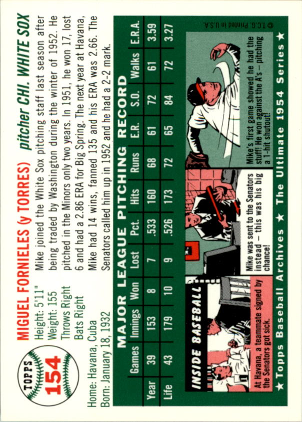1994-Topps-Archives-1954-BB-Card-s-1-258-A1243-You-Pick-10-FREE-SHIP thumbnail 240