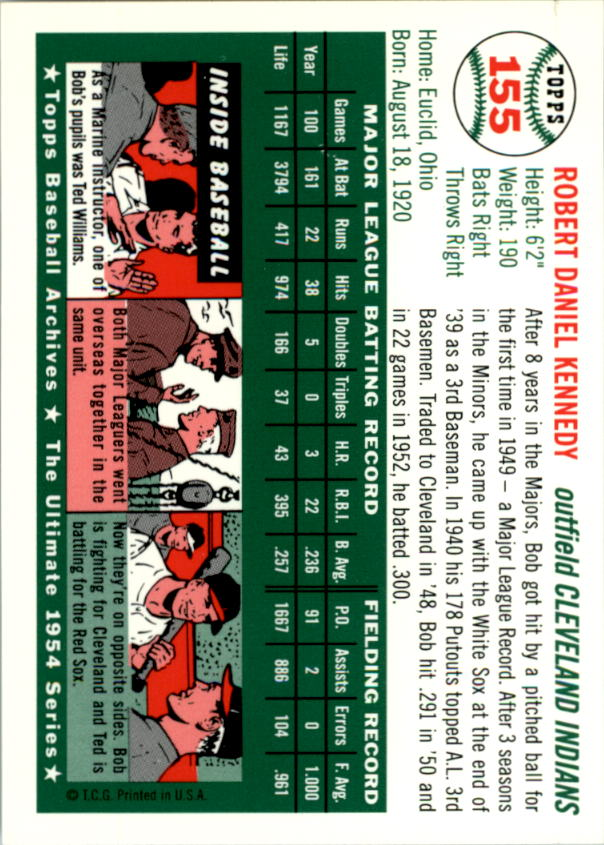 1994-Topps-Archives-1954-BB-Card-s-1-258-A1243-You-Pick-10-FREE-SHIP thumbnail 242