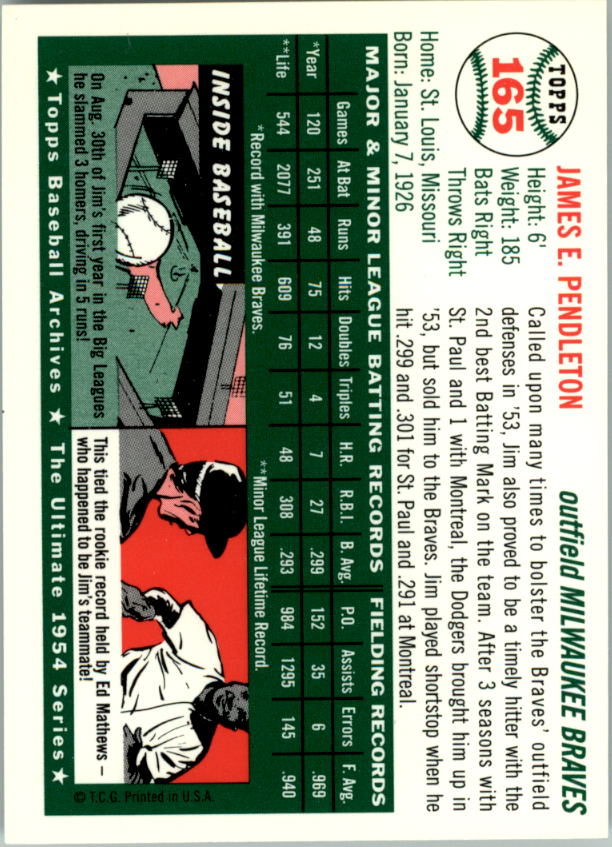 1994-Topps-Archives-1954-BB-Card-s-1-258-A1243-You-Pick-10-FREE-SHIP thumbnail 258