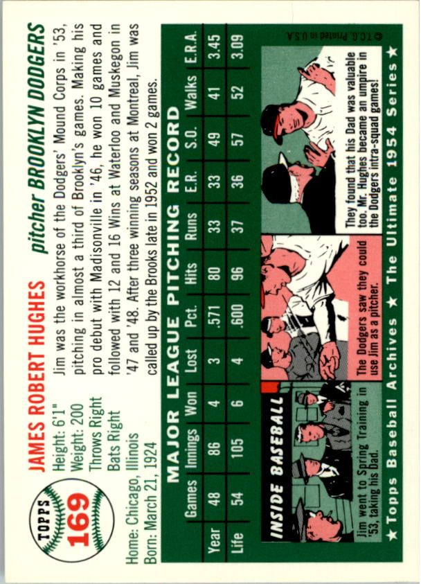 1994-Topps-Archives-1954-BB-Card-s-1-258-A1243-You-Pick-10-FREE-SHIP thumbnail 264