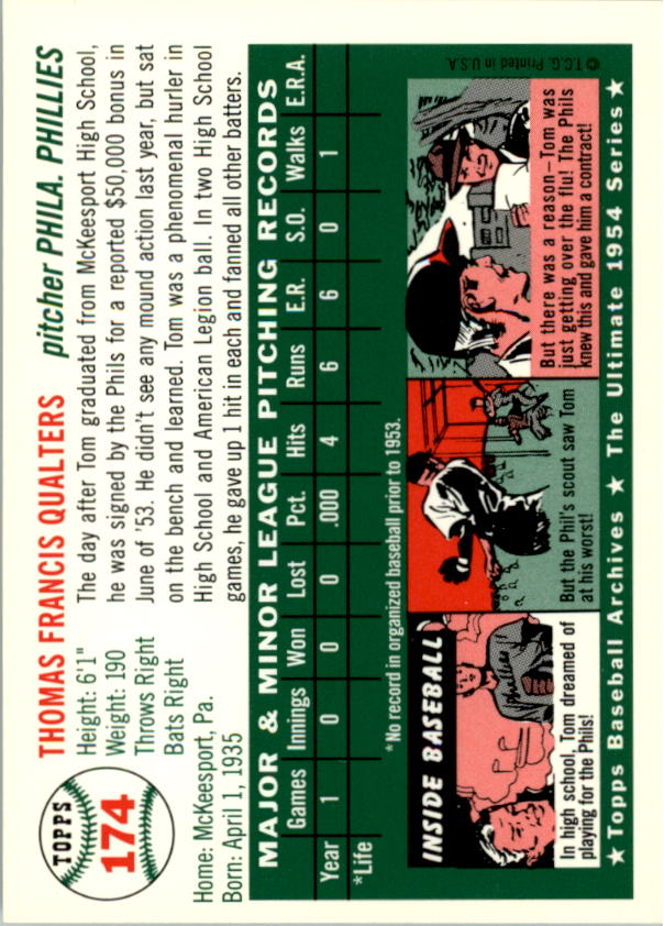 1994-Topps-Archives-1954-BB-Card-s-1-258-A1243-You-Pick-10-FREE-SHIP thumbnail 272