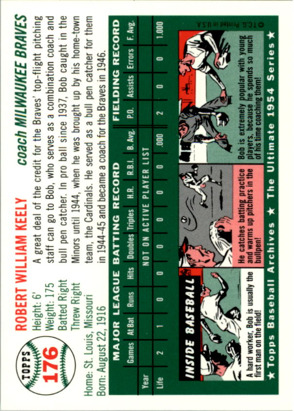 1994-Topps-Archives-1954-BB-Card-s-1-258-A1243-You-Pick-10-FREE-SHIP thumbnail 275