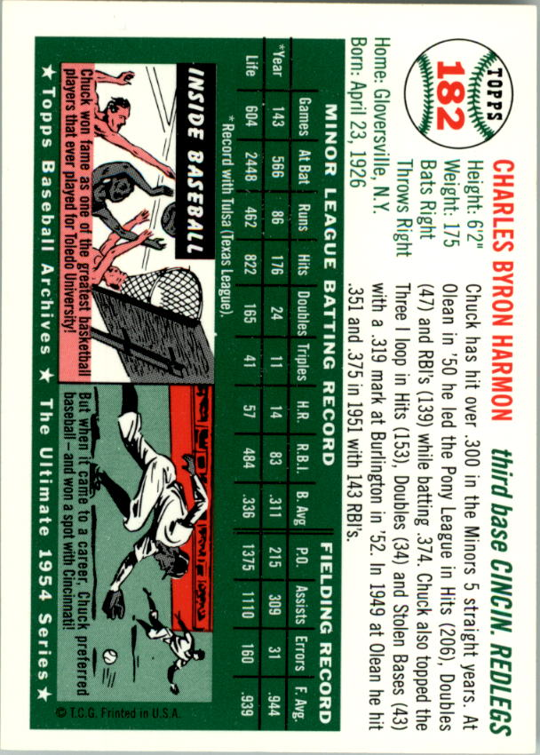 1994-Topps-Archives-1954-BB-Card-s-1-258-A1243-You-Pick-10-FREE-SHIP thumbnail 285
