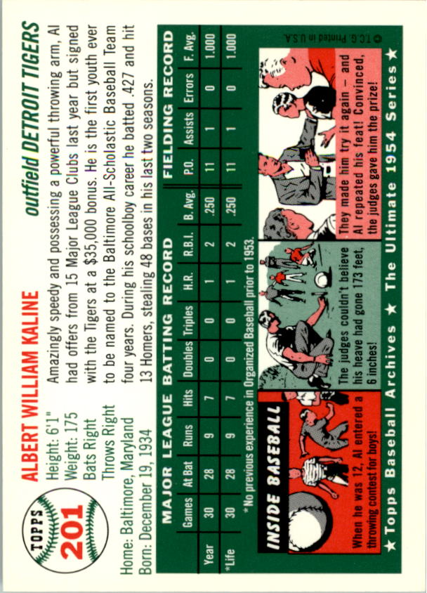 1994-Topps-Archives-1954-BB-Card-s-1-258-A1243-You-Pick-10-FREE-SHIP thumbnail 319