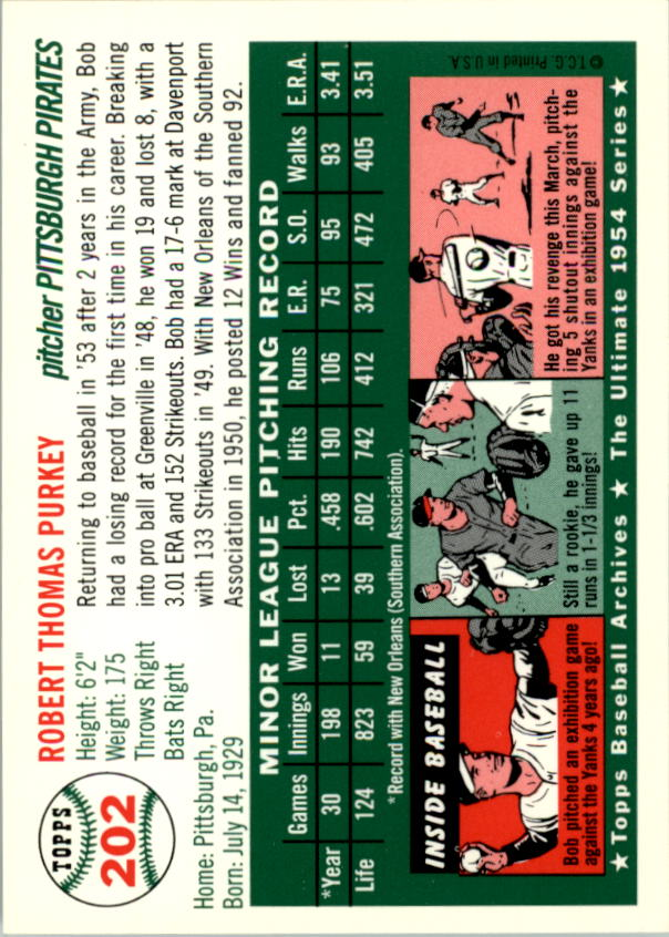 1994-Topps-Archives-1954-BB-Card-s-1-258-A1243-You-Pick-10-FREE-SHIP thumbnail 321