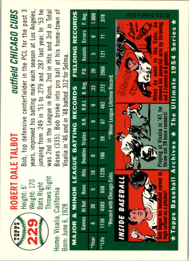 1994-Topps-Archives-1954-BB-Card-s-1-258-A1243-You-Pick-10-FREE-SHIP thumbnail 365