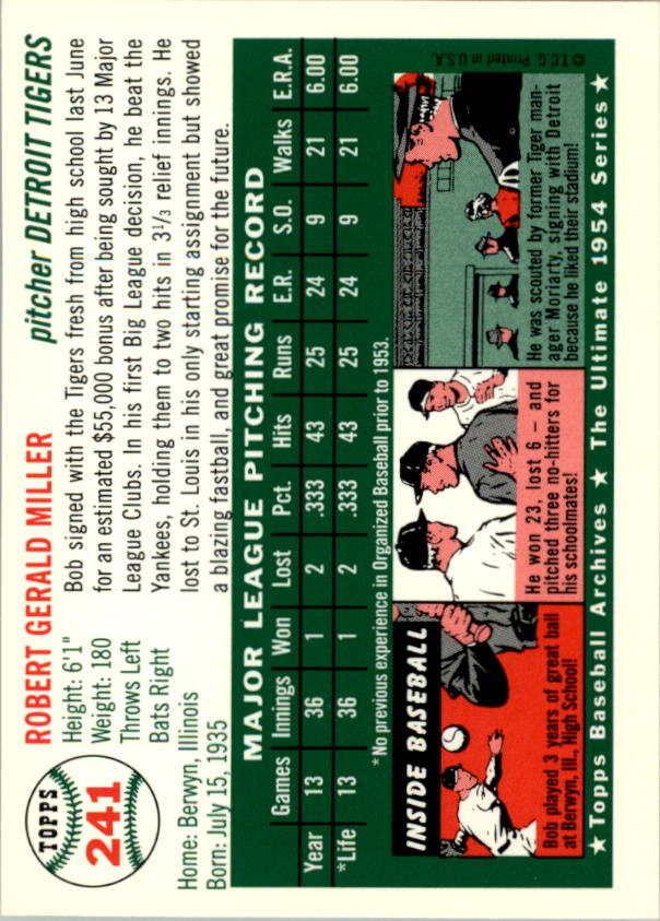 1994-Topps-Archives-1954-BB-Card-s-1-258-A1243-You-Pick-10-FREE-SHIP thumbnail 379