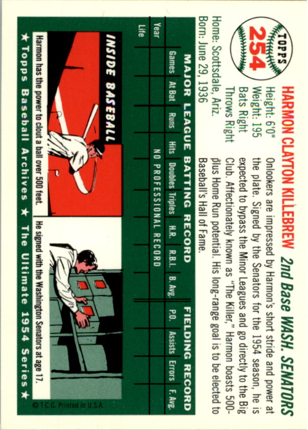 1994-Topps-Archives-1954-BB-Card-s-1-258-A1243-You-Pick-10-FREE-SHIP thumbnail 397