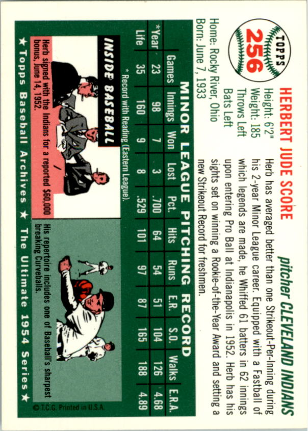 1994-Topps-Archives-1954-BB-Card-s-1-258-A1243-You-Pick-10-FREE-SHIP thumbnail 401