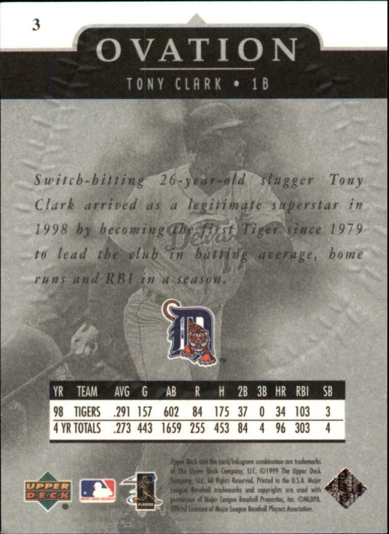 1999-Upper-Deck-Ovation-Baseball-Cards-Pick-From-List thumbnail 7