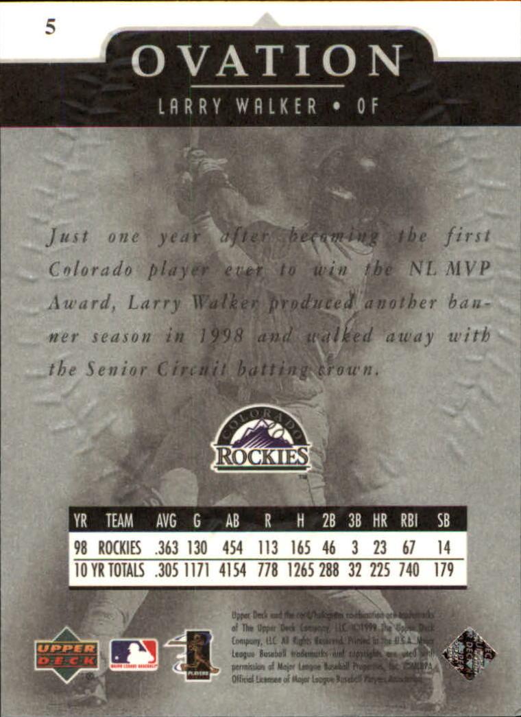 1999-Upper-Deck-Ovation-Baseball-Cards-Pick-From-List thumbnail 11