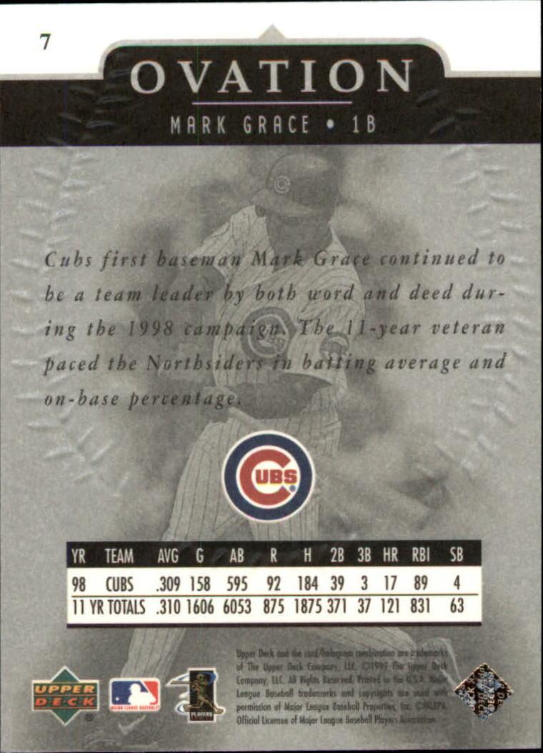 1999-Upper-Deck-Ovation-Baseball-Cards-Pick-From-List thumbnail 15