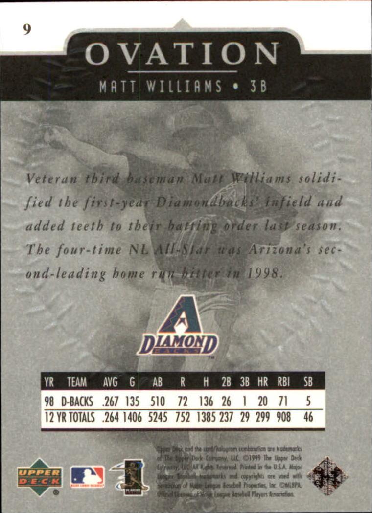 1999-Upper-Deck-Ovation-Baseball-Cards-Pick-From-List thumbnail 19