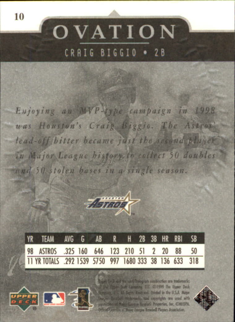 1999-Upper-Deck-Ovation-Baseball-Cards-Pick-From-List thumbnail 21