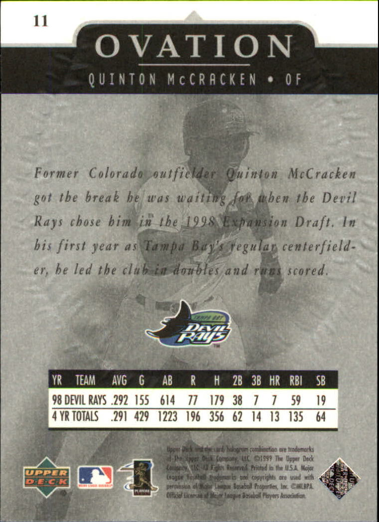 1999-Upper-Deck-Ovation-Baseball-Cards-Pick-From-List thumbnail 23