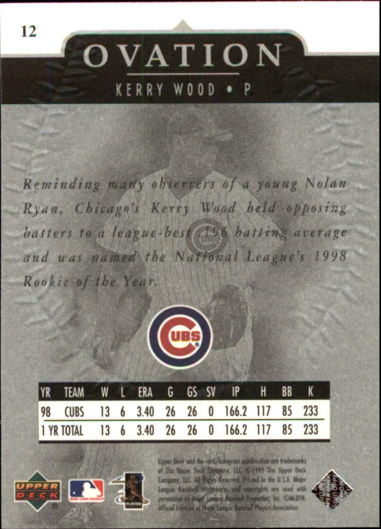 1999-Upper-Deck-Ovation-Baseball-Cards-Pick-From-List thumbnail 25